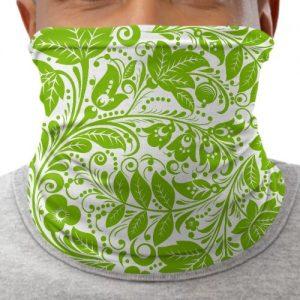 Custom Face Masks Leaves